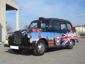 Taxi sans plaque